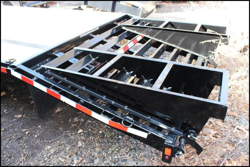 2018 Sure-Trac 8.5x20+5 15K HD Beavertail Deckover Equipment Trailer