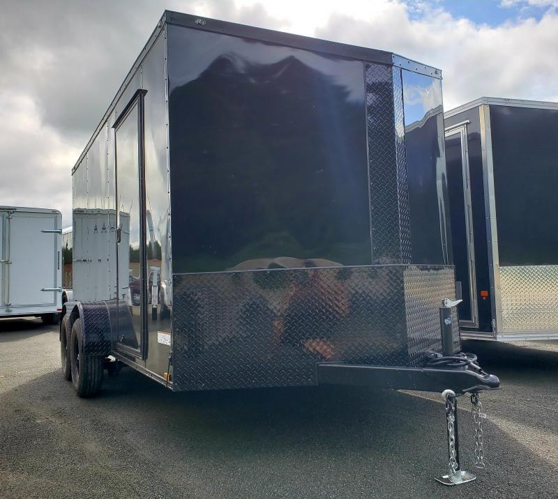 2019 Anvil 7x14 7K Enclosed Cargo Trailer [BLACK-OUT]