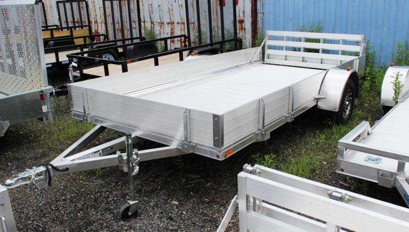 2018 Mission 6.5x14 High Side Aluminum Utility Trailer
