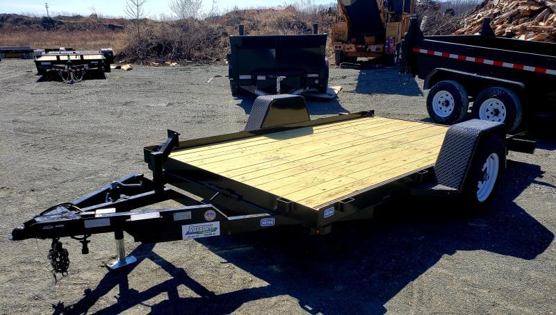 2019 Nation Tank and Trailer 6.5x12 5K Single Axle Tilt Bed Equipment Trailer in Ashburn, VA