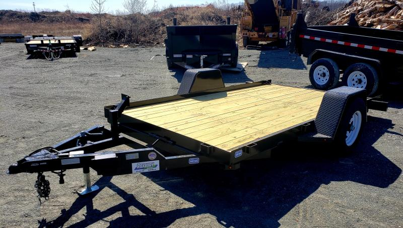 2019 Nation Tank and Trailer 6.5x12 5K Single Axle Tilt Bed Equipment Trailer