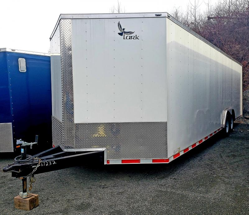 2019 Lark United 8.5X28 10K Enclosed Car Hauler