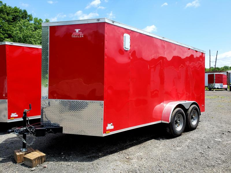 2018 Anvil 7x14 10K Enclosed Cargo Trailer