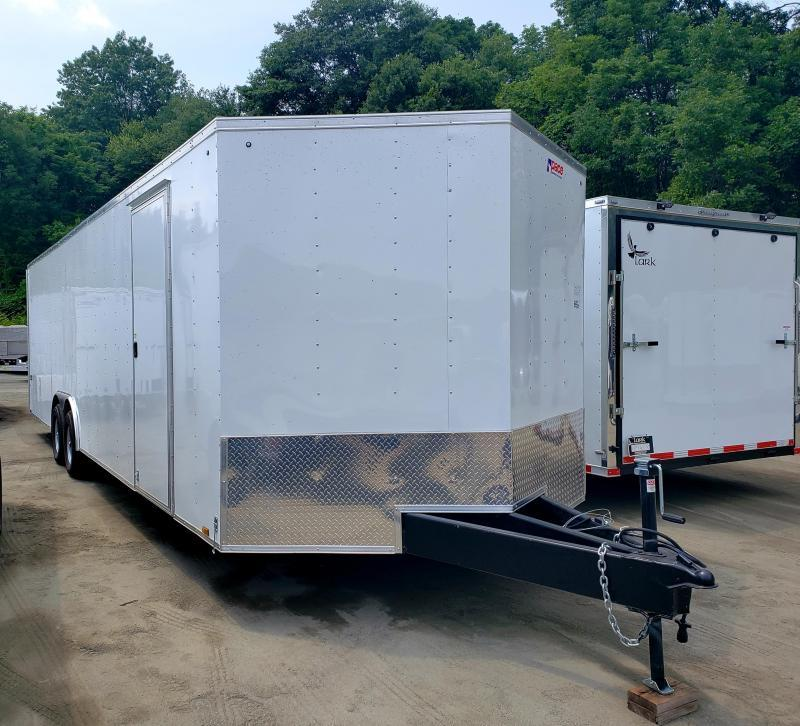 2019 Pace American Journey 8.5X28 10K Enclosed Car Hauler Trailer