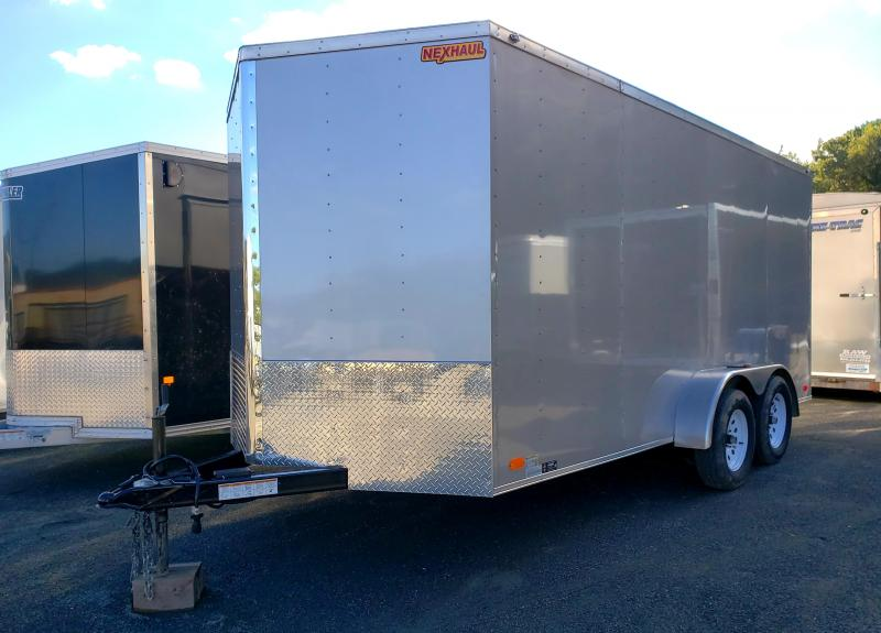 2019 Nexhaul 7x16 Enclosed Cargo Trailer