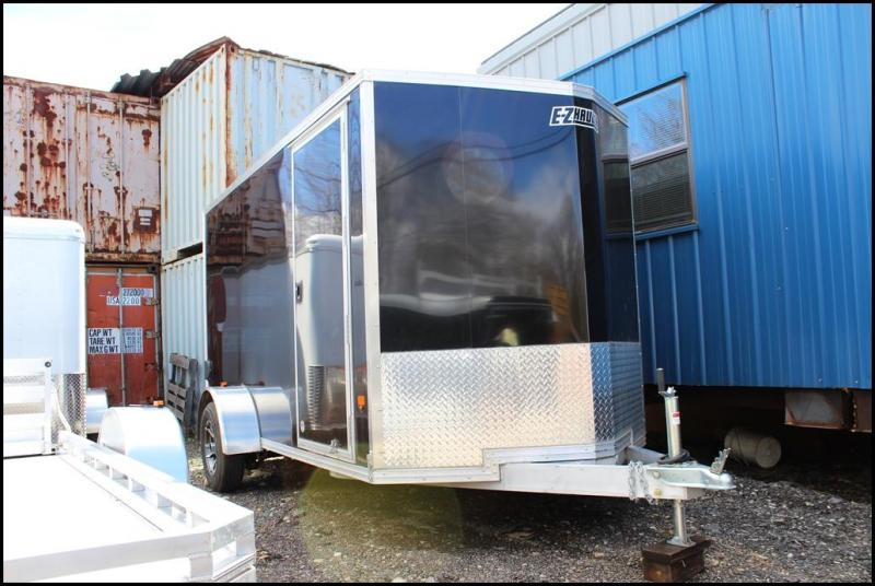 2018 EZ Hauler 6x12 Aluminum Enclosed Cargo Trailer in Ashburn, VA