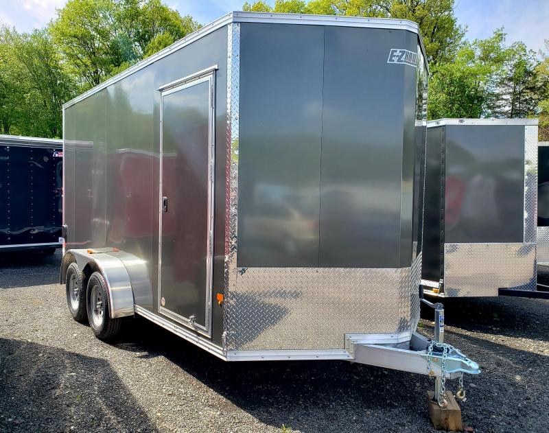 2018 EZ Hauler 7X14 Aluminum Enclosed Cargo Trailer [UTV PKG]