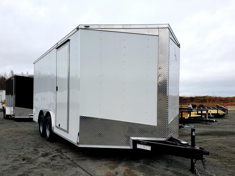 2019 Lark United 8.5x16 Enclosed Car Hauler Trailer