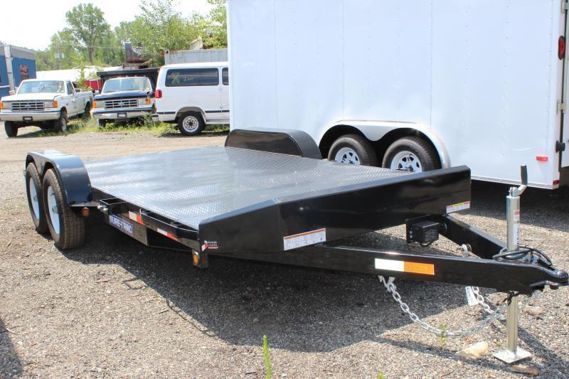 2019 Sure-Trac 7x18 7K Steel Deck Car Trailer