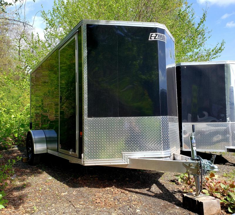 2018 EZ Hauler 6x12 Aluminum Enclosed Motorcycle Trailer in Ashburn, VA