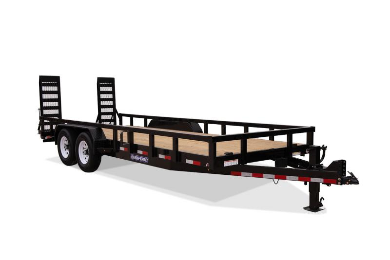 2019 Sure-Trac 7x18+2 14K Heavy Duty Equipment Equipment Trailer