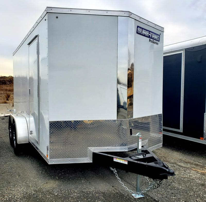 2019 Sure-Trac 7x14 Enclosed 10K PRO SERIES Cargo Trailer