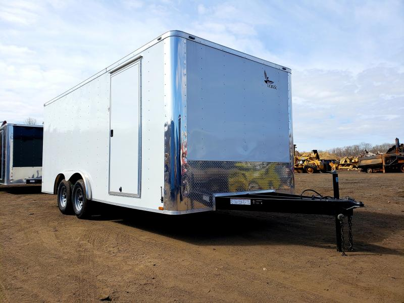 2018 Lark United 8.5x18 Enclosed Car Hauler Trailer