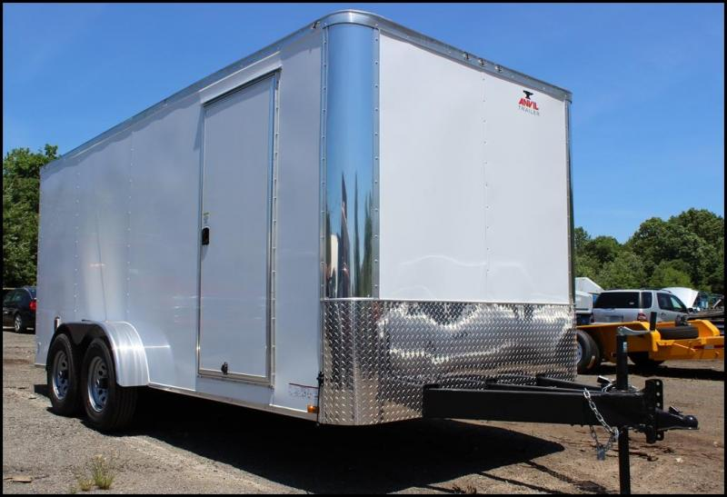 2018 Anvil 7x16 10K Enclosed Landscape Trailer