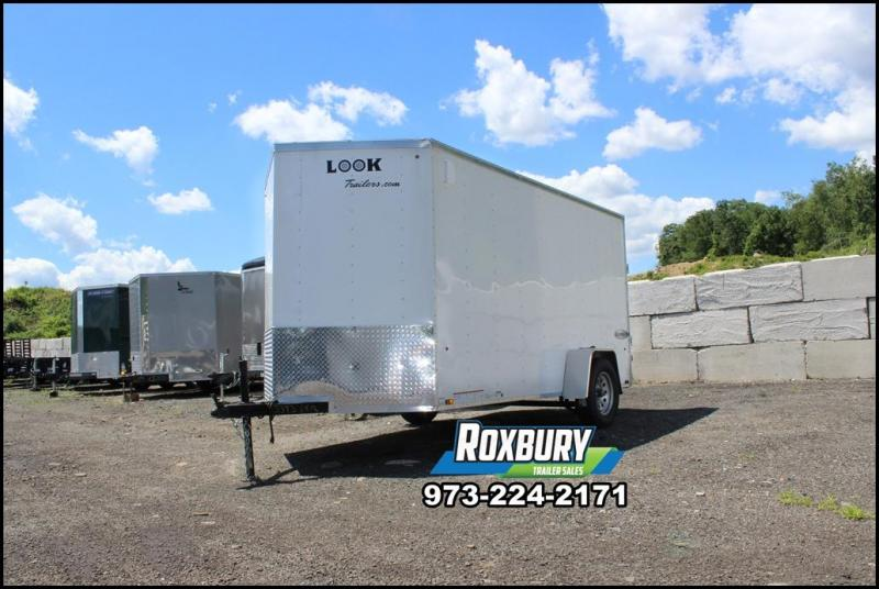 2018 Look Element 6x12 Enclosed Trailer
