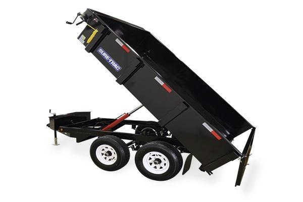 2018 Sure-Trac 6x10 10K Deckover Dump Trailer