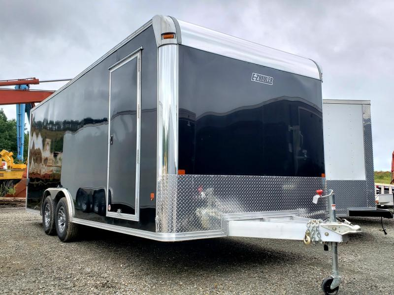 2019 EZ Hauler 8.5x20 Aluminum Enclosed Car Hauler Trailer