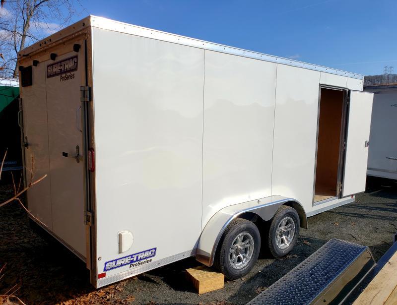 2019 Sure-Trac 7x16 Enclosed PRO SERIES Cargo Trailer