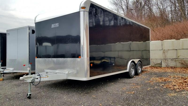 2018 EZ Hauler 8.5x20 Aluminum Enclosed Car Hauler Trailer