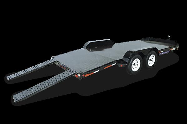 2018 Sure-Trac 7x18 7K Steel Deck Car Trailer