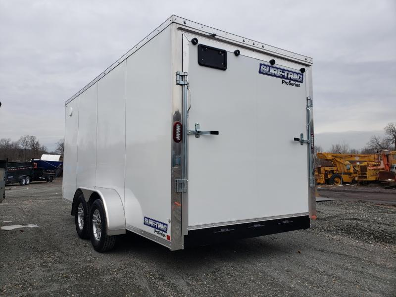 2019 Sure-Trac 7x16 Enclosed PRO SERIES Cargo Trailer