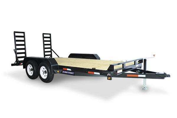 2018 Sure-Trac 7x16 10K Implement Equipment Trailer