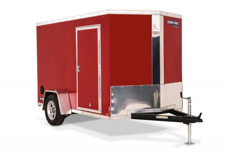 2019 Sure-Trac 6x10 Pro Series Wedge Enclosed Cargo Trailer