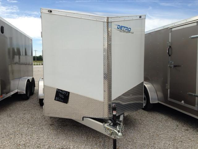 2016 Qualitec Avenger 7 x 16 Enclosed Trailer