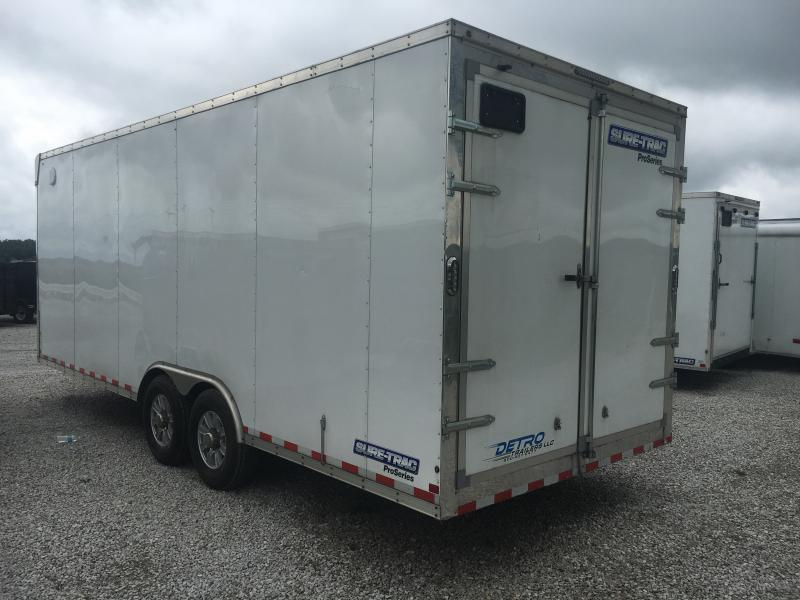USED 2017 Sure-Trac 8.5X20 Enclosed Cargo Trailer