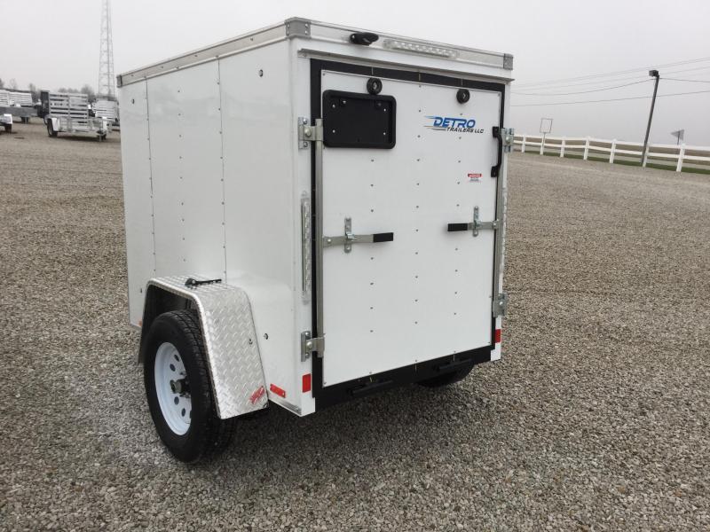 2018 Cargo Express 4X6 Enclosed Cargo Trailer