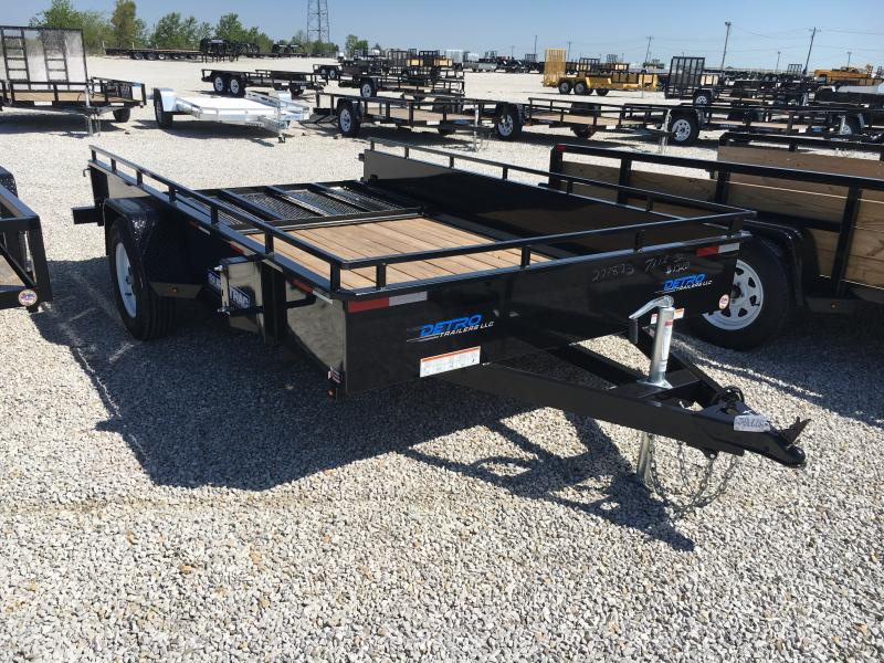 2018 Sure-Trac 7 x 12 Steel High Side 3k Idler