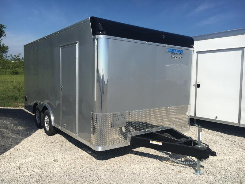 2018 Sure-Trac 8.5x16 Pro Series Bull Nose Cargo TA 7K in Ashburn, VA