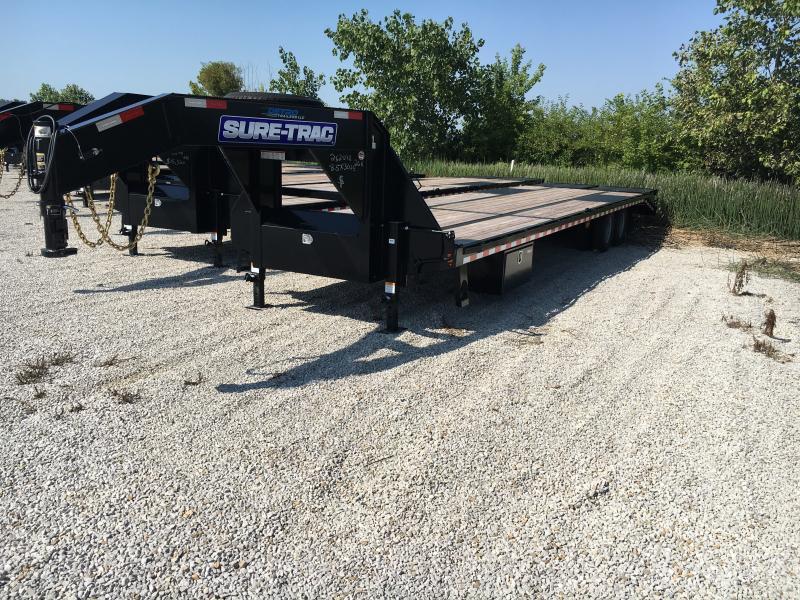 2019 Sure-Trac 8.5x30+5 LowPro Deckover Tandem GN 25.9K