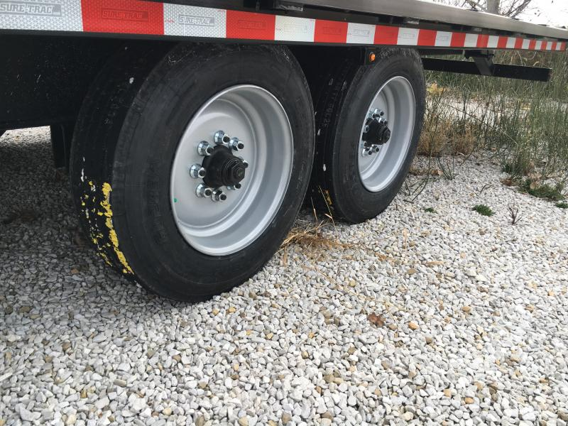 2019 Sure-Trac 102x22 Deckover Tilt Tandem BP 17.6K
