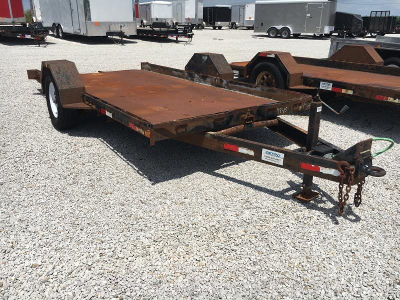 USED 2000 Imperial 14' Equipment Trailer in Ashburn, VA