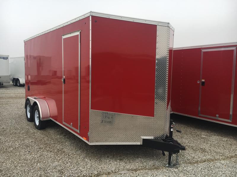 2018 Cargo Express 7X16 Cargo / Enclosed Trailer
