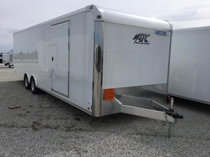 2018 ATC 8.5X28 Car / Racing Trailer