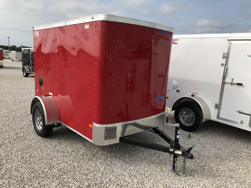 2019 American Hauler Industries 5X8 Enclosed Cargo Trailer