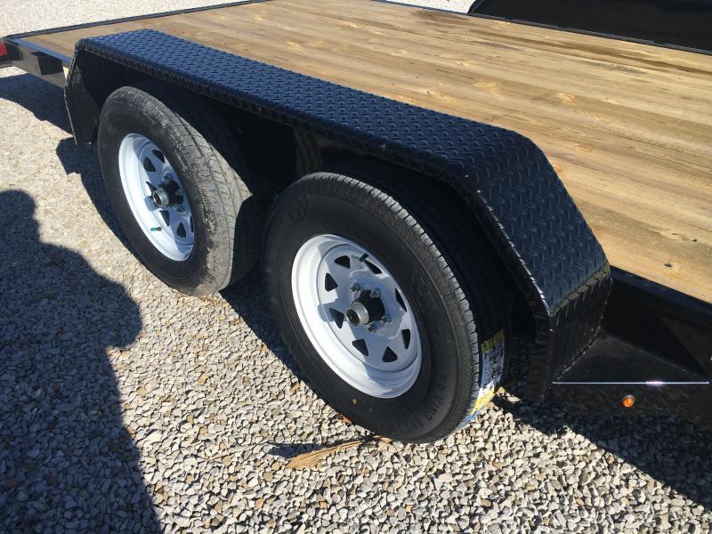 2019 Sure-Trac 7 X 20 Wood Deck Car Hauler 7k