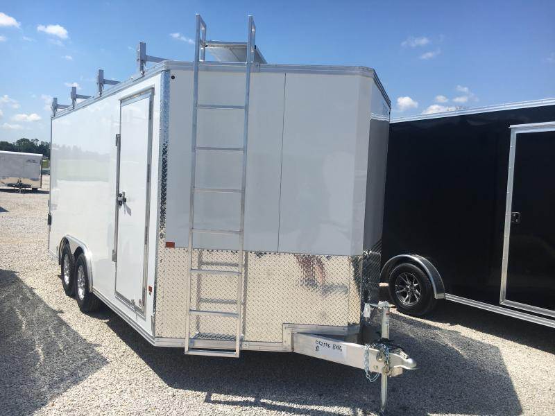 2019 EZ Hauler 8.5X16 Contractor Enclosed Cargo Trailer