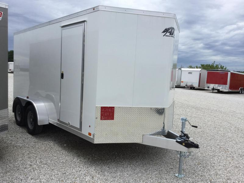 2017 ATC 7X14 RAVEN Enclosed Cargo Trailer