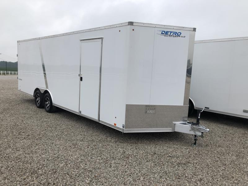 2019 Look Trailers Platinum Flat Top Auto Car / Racing Trailer