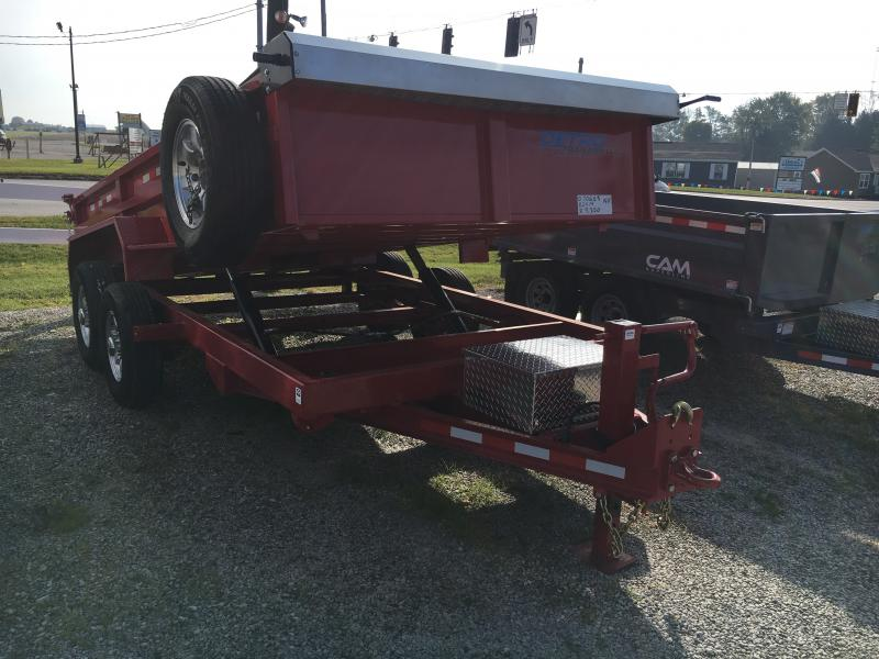 2019 Cam Superline 82X14 DUAL TELESCOPIC DUMP Dump Trailer in Ashburn, VA