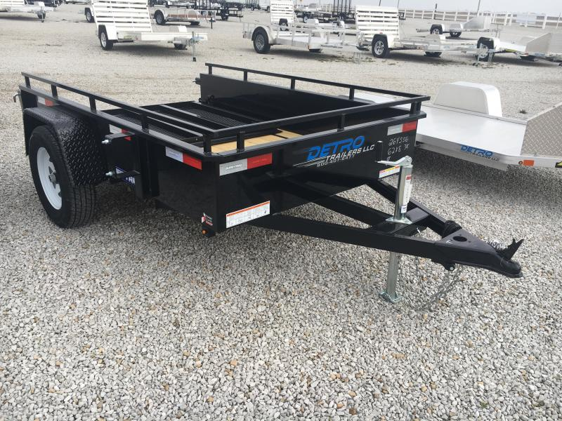 2019 Sure-Trac 5 x 8 Steel High Side 3k Idler