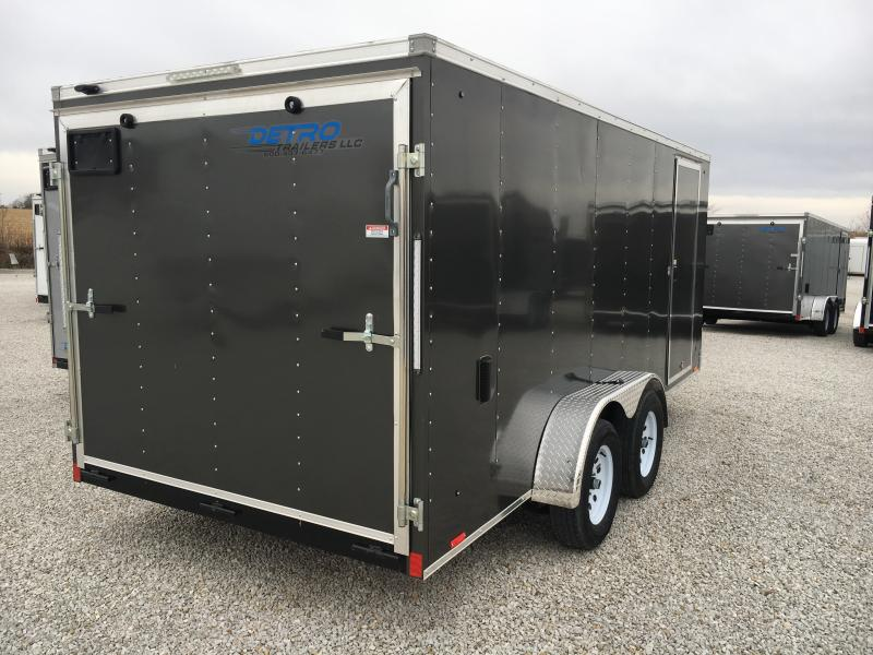 2019 Cargo Express 7X16 Cargo / Enclosed Trailer