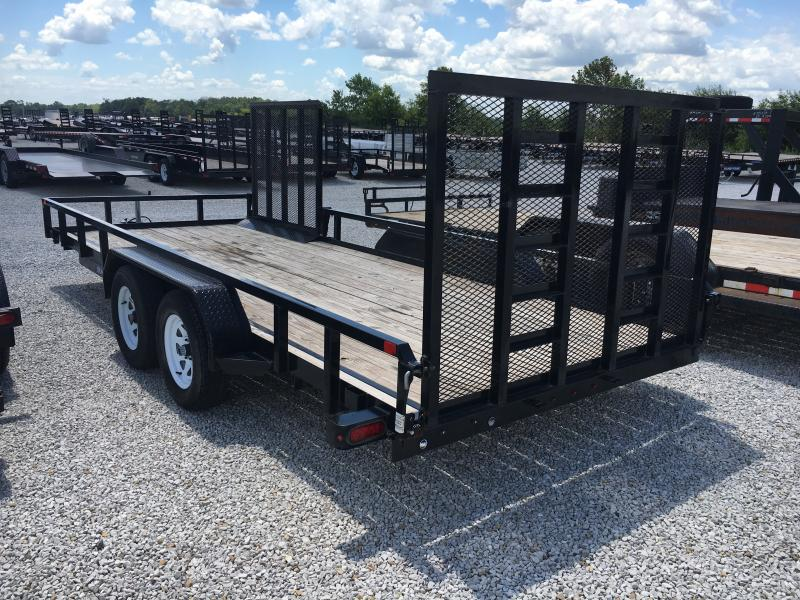 USED 2018 Sure-Trac 7X18 ATV Trailer