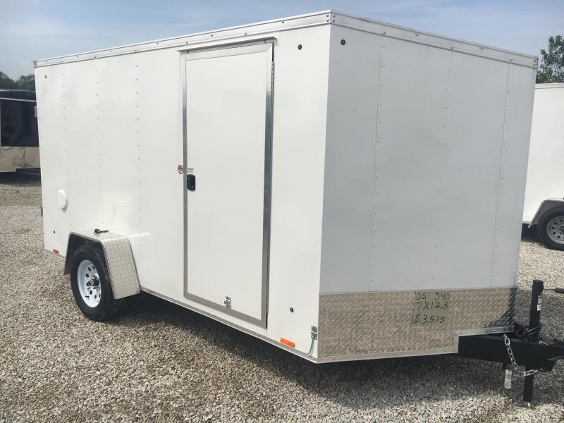 2019 Cargo Express 7X12 Enclosed Cargo Trailer