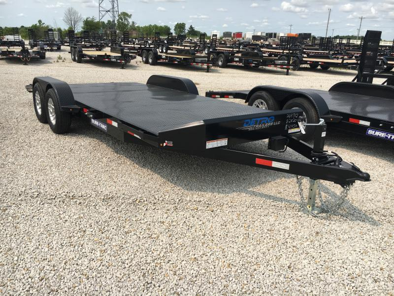 A Look at Used Car Transport Trailers