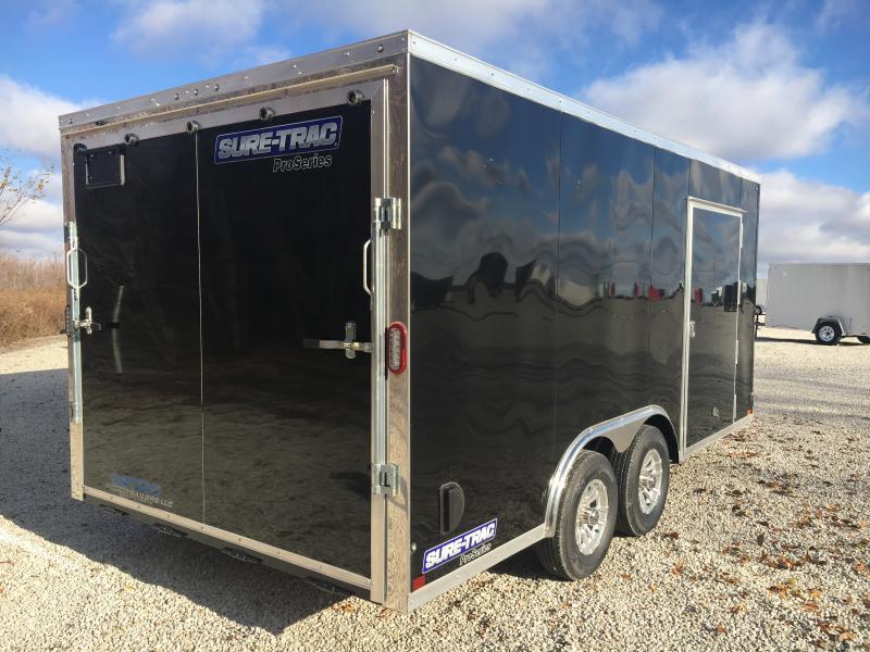 2019 Sure-Trac 8.5x16 Pro Series Wedge C. Hauler TA 10K