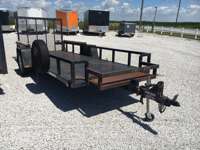 USED 2000 Other 6X15 Utility Trailer